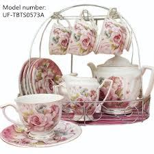 tea cup set european pastoral style tea and coffee sets ceramic porcelain tea