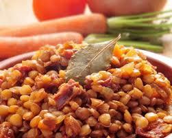 lentilles cuisine recette lentilles aux lardons facile rapide