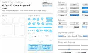 50 free ui and web design wireframing kits resources and source