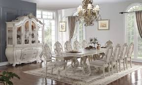 Acme Dining Room Sets by Ragenardus Dining Table 61280 In Antique White By Acme W Options
