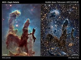 hubble revisits an icon the pillars of creation u2013 phenomena no