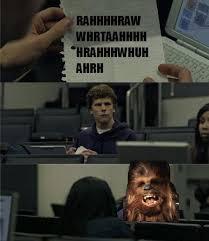 Chewbacca Memes - hilarious star wars memes smosh