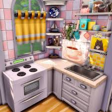 how to make a corner kitchen cabinet sims 4 cilla the sims 4 builder on instagram kitchen