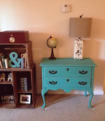 Turquoise Console Table Rustic Turquoise Console Table Or Nightstand By Furniturealchemy