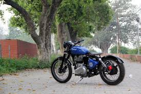 modified bullet fernweh modified royal enfield classic uce bobber bambukaat