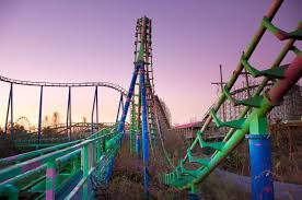 Six Flag New Orleans Abandoned Amusement Parks From Seph Lawless Photos Abc News