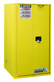 Justrite Flammable Liquid Storage Cabinet Combustibles Safety Cabinet 96 Gal 5 Shelves 2 S C Drs