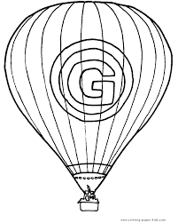 air balloon coloring pages clipart panda free clipart images