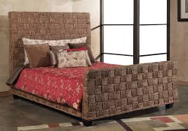 bedroom design wonderful wicker seagrass headboard design and