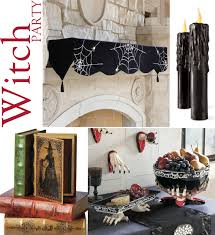Witch Decorating Ideas Halloween Witch Party Decorations With A Touch Of Gothic Glam At