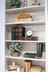 decorate shelves shelf decorating ideas living room plants