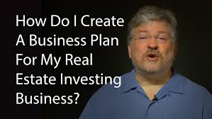 Business Plan Template For Real Estate Agents by How Do I Create A Business Plan For My Real Estate Investing