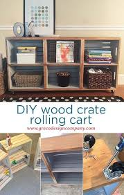 Wooden Crate Shelf Diy by Best 25 Wood Crate Furniture Ideas On Pinterest Apartment