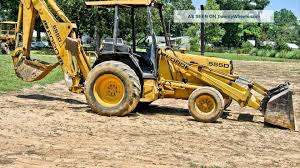 1995 ford 555d backhoe youtube