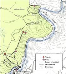 Manasquan Reservoir Map Gone Hikin U0027 Glen Onoko Falls Broad Mountain Lehigh Gorge State