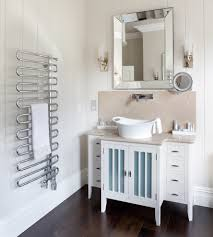 wall mounted towel rack bathroom contemporary with angled