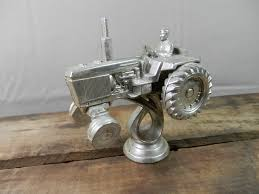 vintage tractor ornament trophy topper craft supply