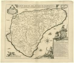 Map Of Kent State University by A Promotional Map Of Barbados C 1675 Common Placecommon Place