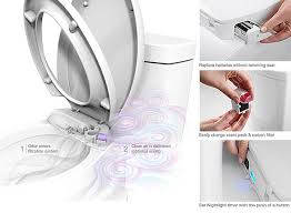Bathroom Air Fresheners Purefresh Toilet Seat Has Integrated Fan And Air Freshener To