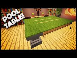 How To Build A Bookcase In Minecraft Minecraft How To Build A Pool Table Http Pooltabletoday Com