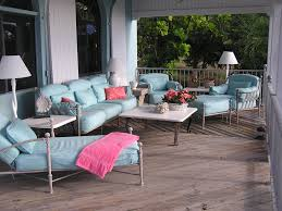 living room wicker furniture set for outdoor living room idea