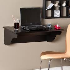 southern enterprises clapton wall mount laptop desk black