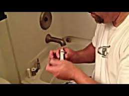 how to replace a 1222 moen single handle cartridge youtube