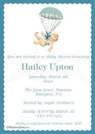 baby umbrella printable baby shower invitation