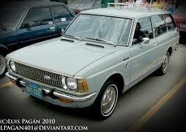 1970 toyota corolla station wagon 70 blue toyota corolla wagon by mister lou on deviantart