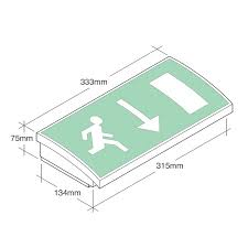 mezzolite led exit sign emergency lighting products ltd