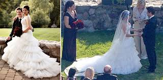 wedding dresses america america ferrera s christos wedding dress preowned wedding dresses