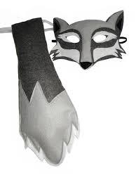 Wolf Mask Children U0027s Woodland Animal Wolf Felt Mask And Tail Set Magical Attic