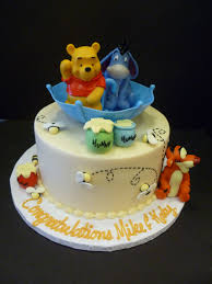 boy oh boy baby shower cakes winnie the pooh baby shower cake