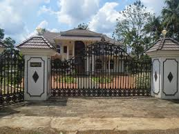 beatiful gates kerala design home gate designs e2 80 93 loversiq