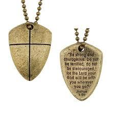 christian necklace christian necklace shield of faith clearance songear xx53044