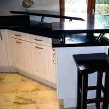 pied de plan de travail cuisine pied plan de travail cuisine bar pose plan de travail cuisine sur