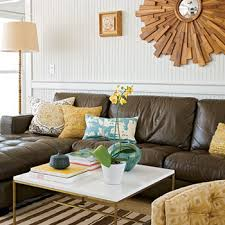 brown blue and yellow living room ideas 1451
