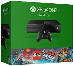 amazon com xbox one 500gb console the lego movie videogame