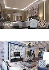 carved leather interior gypsum false ceiling design 3d ceiling
