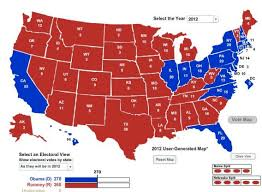 united states population map geographically smallest electoral college map