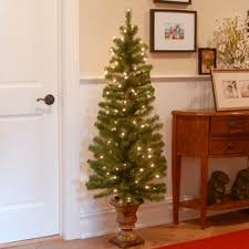 Pre Lit Decorated Christmas Trees Sale by Outdoor Christmas Trees You U0027ll Love Wayfair