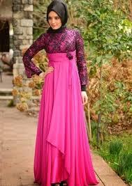 Baju Muslim Brokat baju pesta muslim brokat modern terbaru style desain