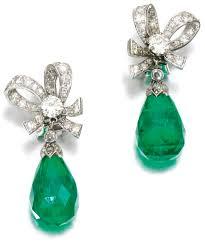 emerald green earrings 135 best beryl emerald earrings cab images on