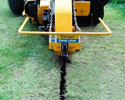 wheel trencher rubber tired tractor aft 45 aft trenchers