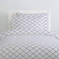 lilac trellis duvet cover carousel designs