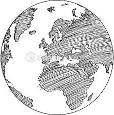 world map image drawing best 25 globe drawing ideas on earth globe and