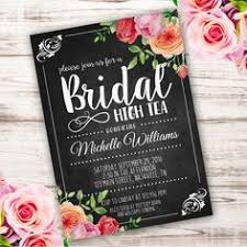 kitchen tea invitation ideas tea bridal shower invitations wedding shower invite