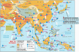 Physical Map Of East Asia by Geography Of South Asia