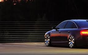 black audi black audi a6 side view gorgeous car