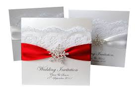 snowflake wedding invitations snowflake wedding invitations 20 pack by made with designs